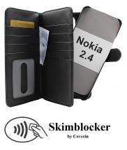 CoverInSkimblocker XL Magnet Fodral Nokia 2.4
