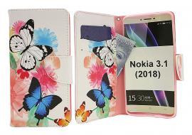 billigamobilskydd.seDesignwallet Nokia 3.1 (2018)