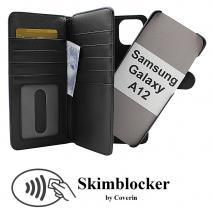 CoverInSkimblocker XL Magnet Fodral Samsung Galaxy A12