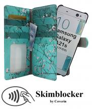 CoverInSkimblocker XL Magnet Designwallet Samsung Galaxy A21s (A217F/DS)