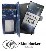 CoverInSkimblocker XL Magnet Designwallet Samsung Galaxy A42 5G