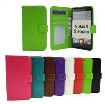 billigamobilskydd.seCrazy Horse Wallet Nokia 8 Sirocco