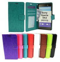 billigamobilskydd.seCrazy Horse Wallet Sony Xperia XA2 (H3113 / H4113)