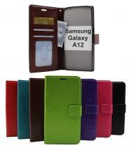 billigamobilskydd.seCrazy Horse Wallet Samsung Galaxy A12 (A125F/DS)