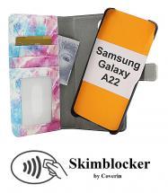 CoverInSkimblocker Magnet Designwallet Samsung Galaxy A22 (SM-A225F/DS)