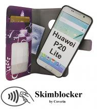 CoverInSkimblocker Magnet Designwallet Huawei P20 Lite (ANE-LX1)