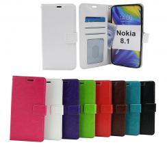 billigamobilskydd.seCrazy Horse Wallet Nokia 8.1