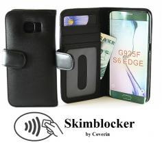 billigamobilskydd.seSkimblocker Plånboksfodral Samsung Galaxy S6 Edge (G925F)