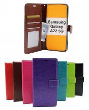 billigamobilskydd.seCrazy Horse Wallet Samsung Galaxy A22 5G (SM-A226B)