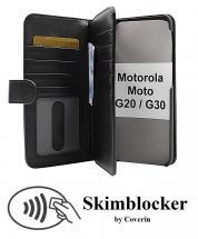 CoverInSkimblocker XL Wallet Motorola Moto G20 / Moto G30
