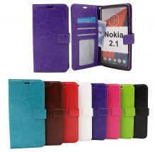 billigamobilskydd.seCrazy Horse Wallet Nokia 2.1