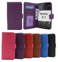 billigamobilskydd.seNew Standcase Wallet Nokia 2.1