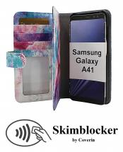 CoverInSkimblocker XL Designwallet Samsung Galaxy A41