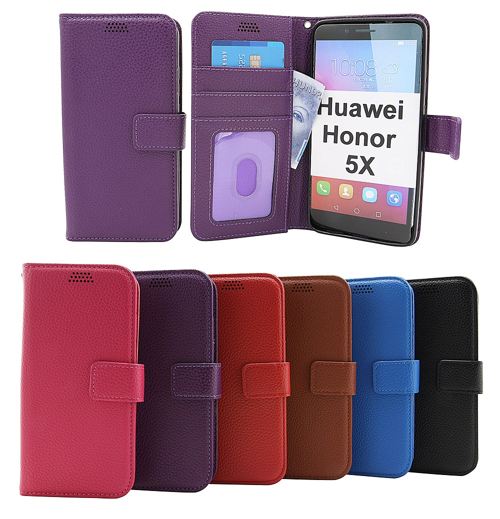 billigamobilskydd.seNew Standcase Wallet Huawei Honor 5X